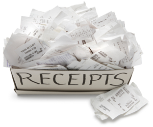 receipts for pilots and flight attendants